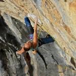 The Go Climbing knee bar pad prototype