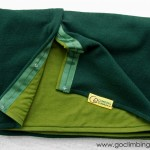 Вълнен шал Go Climbing, модел Fata - зелен 2