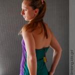 Катерачен потник Go Climbing, модел Notos - лилав, гръб