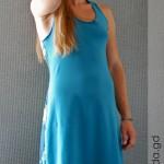 Рокля Go Climbing, модел Semele - синя