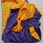 Climbing top Zephyr - purple + yellow