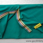 Scarf Go Climbing, Fata, green 3, cotton