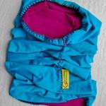 Sport scarf Go Climbing, Clotho, cotton, blue, purple